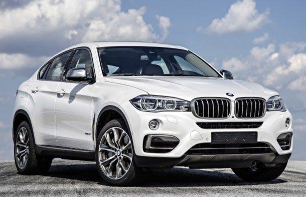Спортивный BMW X6 2013 года