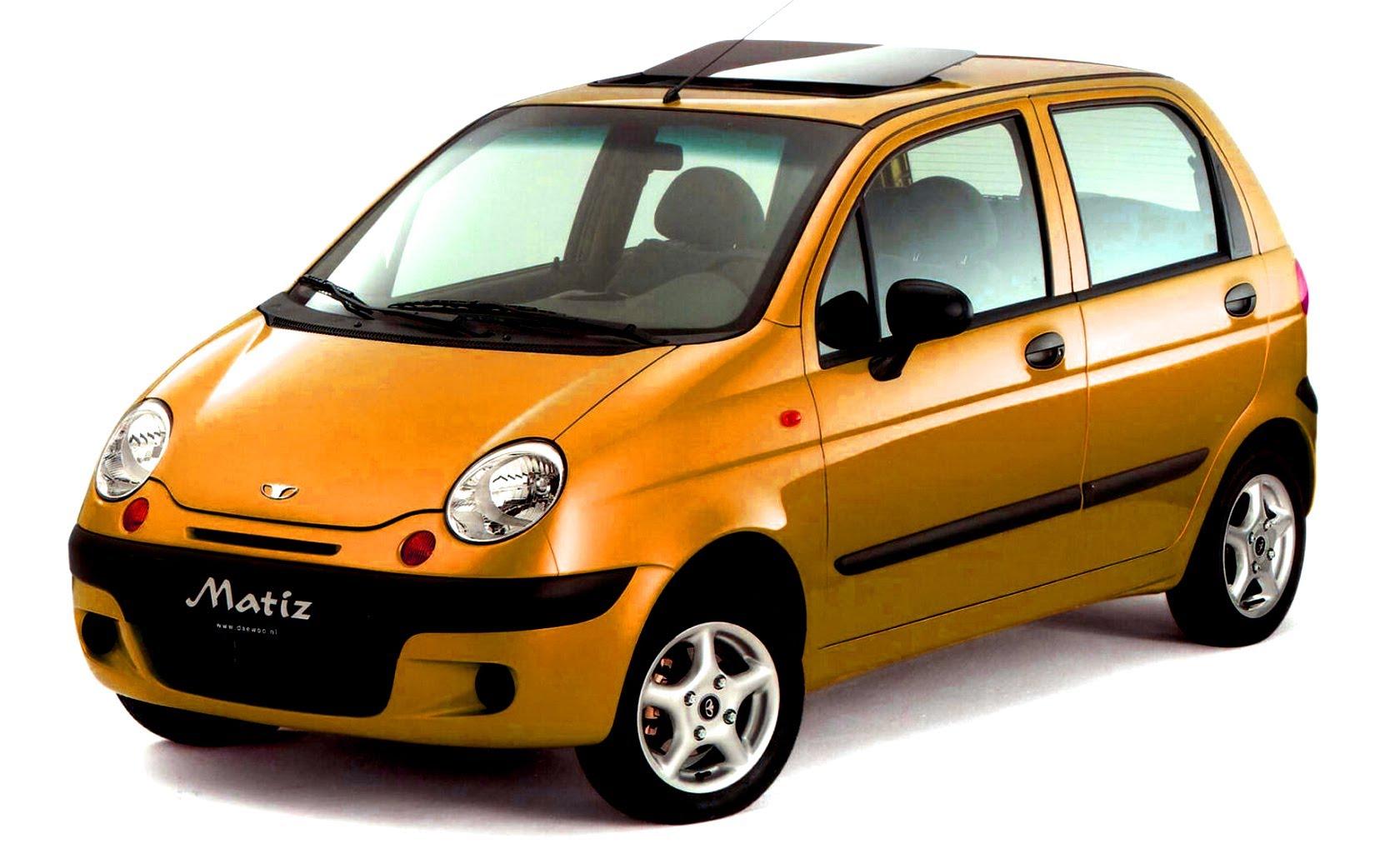 Daewoo Матиз - быстрый, доступный, современный