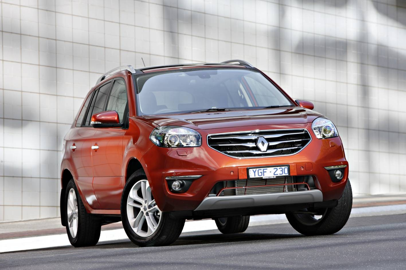Обзор Renault Koleos 2013