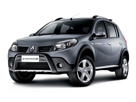 Renault Sandero StepWay - хетчбек повышенной проходимости