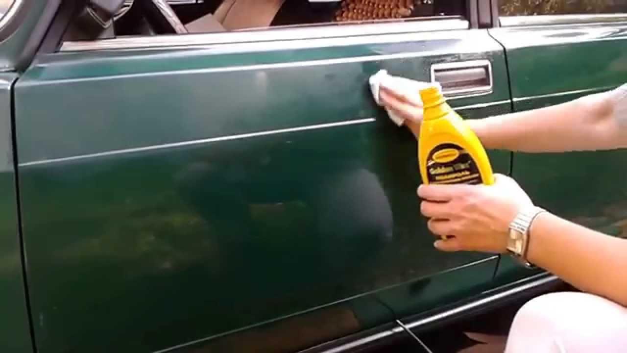 Виды защитных полиролей для кузова автомобиля